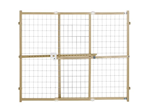 Cheap Quick Fit Wire Mesh Gate, Fits Spaces between 29.5″ to 50″ wide and 32″ high