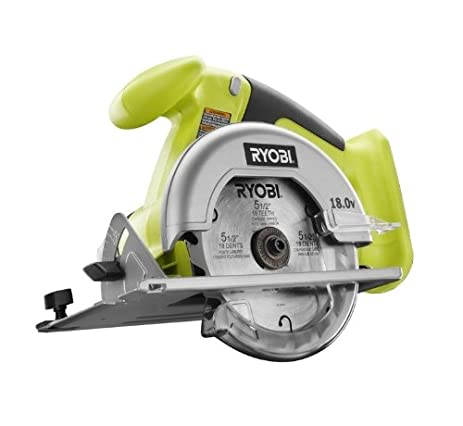 Ryobi one p501g 18v lithium ion cordless 5 12 inch circular saw ryobi one p501g 18v lithium ion cordless 5 12 inch circular saw w greentooth Image collections