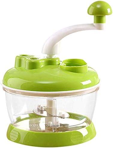 Ayioo Robot Cocina Manual Multifunción Carne Triturador Helicóptero para Cocina Hogar - Verde: Amazon.es