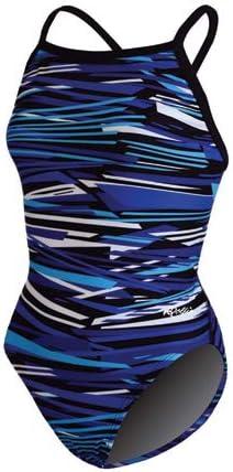 Dolfin Swimwear Styx V-2 Back - ブルースティックス、32