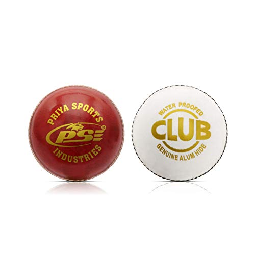 Leather Cricket Ball 'Multi colour, Pack of 2 – Best Leather Ball