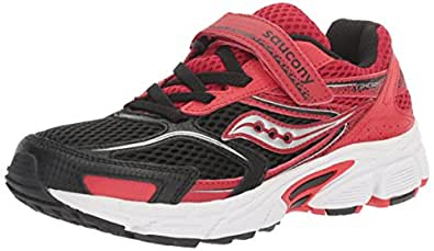 Saucony Unisex-Child Girls Cohesion 9 AC - K Cohesion 9 Ac Red Size: 2.5 Little Kid