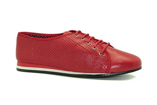Zapato de vestir de mujer - Maria Jaen modelo 2119N Rojo