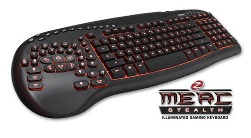 7cd72ac284f MERC Stealth Illuminated Gaming Keyboard: Computer and Video Games -  Amazon.ca