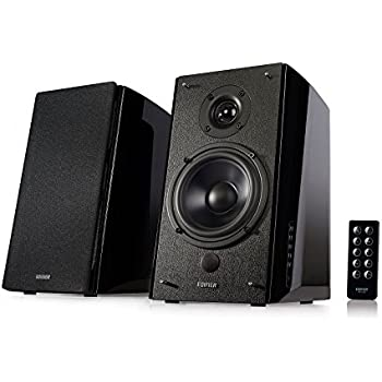 Edifier R2000DB Powered Bluetooth Bookshelf Speakers - Near-Field Studio Monitors - Optical Input - 5 inch Subwoofer - 120 Watts RMS