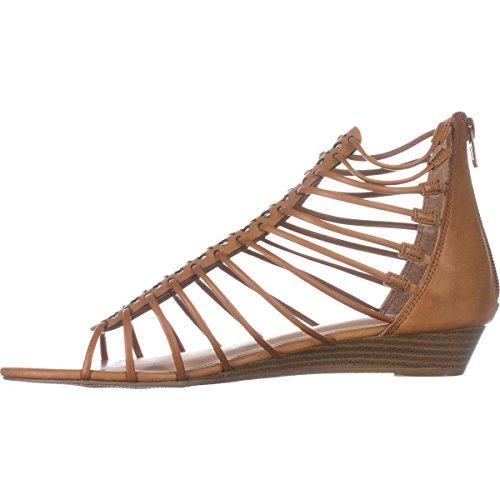Sandalias De Tiras Ocasionales Del Tobillo De Averi Del Dedo Del Pie Abierto De American Rag De Las Mujeres