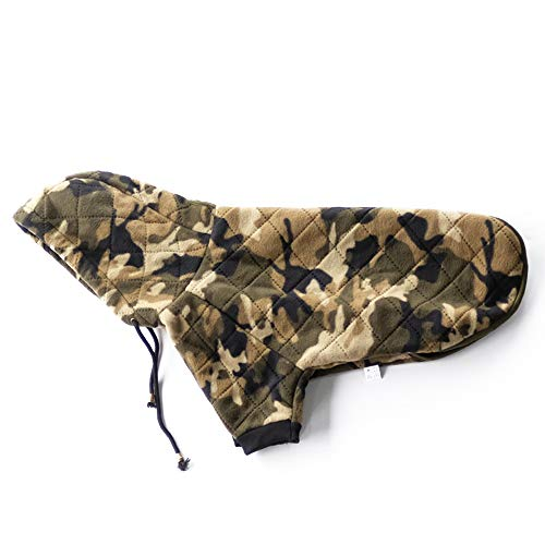 InnoPet pet Dog Clothes, Large Dog Camo Hoodie Costume Outfits Sweater Dog Coat Warm Sweatshirt Winter Jacket Dog Apparel for Cold -