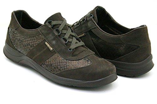 Marrón Casual P5101074 Mujer Mephisto Nobuck De 5400 Oscuro Stylbuck Cuero Black Para Zapatos Laser SqSx4R7wCU
