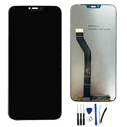 SOMEFUN LCD Display Digitizer Touch Screen Glass Panel Assembly Replacement for Moto G7 Power XT1955 XT1955-2 6.2