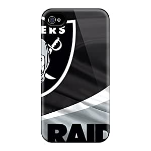 Oakland Raiders 4/4s Awesome High Quality Iphone Case Skin
