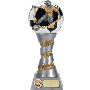 plateado y dorado envejecido de 10 x-plode10 3d trofeo de ...