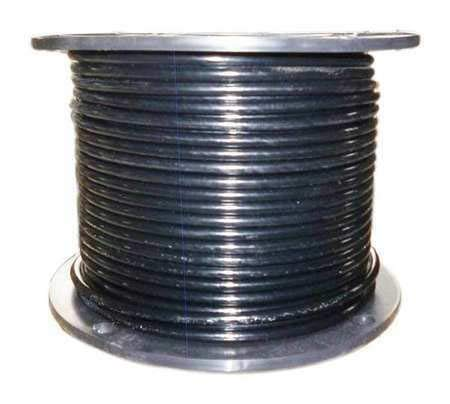 1 Pcs Compatible with Dayton 2VJX5 Cable,1/4 in,L100Ft,WLL1220Lb,7x7 - Steel.