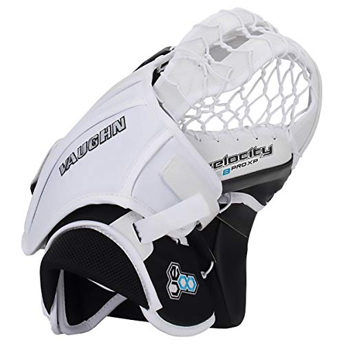 Vaughn VE8 Velocity Pro XP Goalie Catcher - Senior (White)