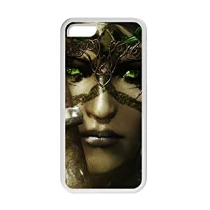 Custom de The Elder Scrolls V Skyrim Desgin Super Quality TPU Case Cover for iPhone 5 C