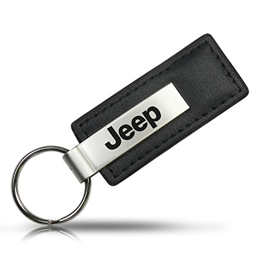 Au-TOMOTIVE GOLD Jeep Keychain & Keyring - Premium Leather