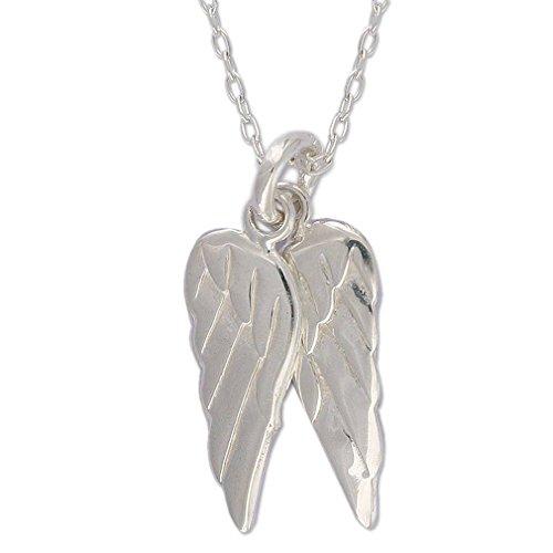 (NOVICA .925 Sterling Silver Cross Necklace, 17.75