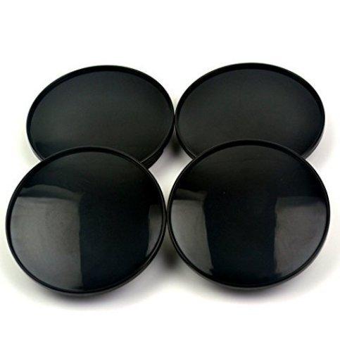 (68mm/61.5mm Black Car Wheel Center Hub Caps Base 4pcs )