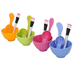 New Beauty 6 in 1 DIY Facial Mask Bowl Brush Spoon Tool Y-16