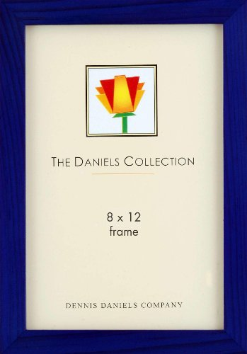 Dennis Daniels Gallery Woods Picture Frame, 8 x 12 Inches, Blue Finish