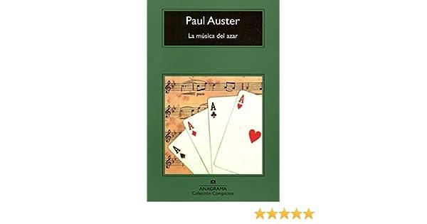 La Musica del Azar (Spanish Edition): Paul Auster: 9788433966117: Amazon.com: Books