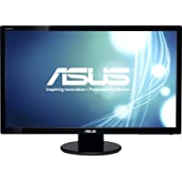 Asus Computer International - Asus Ve278h 27 Led Lcd Monitor - 16:9 - 2 Ms - Adjustable Display Angle - 1920 X 1080 - 16.7 Million Colors - 300 Nit - 1,200:1 - Full Hd - Speakers - Hdmi - Vga - 45 W - Black - Weee, Rohs, J-Moss (Japanese Rohs), Erp, Energy Star Product Category: Computer Displays/Monitors