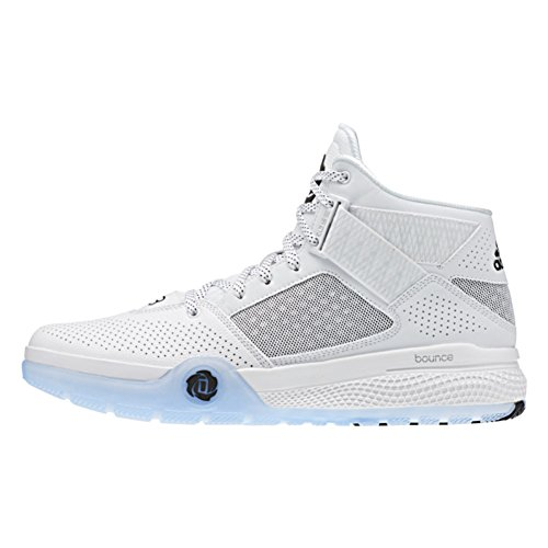 with mastercard discount reliable Adidas D Rose 773 IV Mens Basketball Shoe 4.5 White-Black 7FQELbA