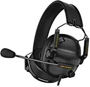 SENZER SG500 Surround Sound Pro Gaming Headset with Noise Cancelling Microphone - Detachable Memory Foam Ear P
