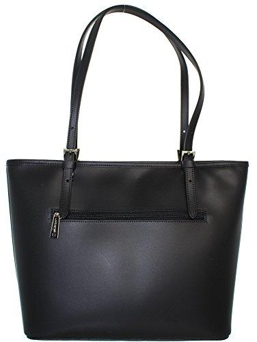 29 cm femme noir sac vachette cuir a main constance de Lancaster WxFw0Rqgg8