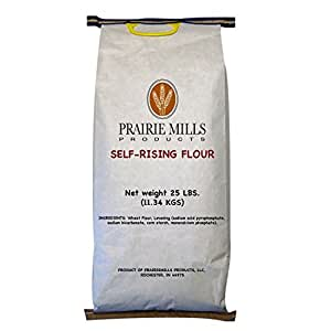 Amazon.com : Prairie Mills Self Rising Flour - 25 Lb. Bag