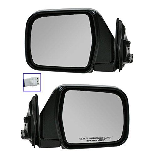 Chrome Folding Power Side View Mirrors Left & Right Pair Set for 92-95 4Runner