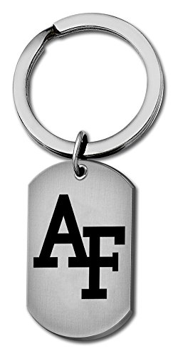College Jewelry Air Force Falcon Stainless Steel Key Ring