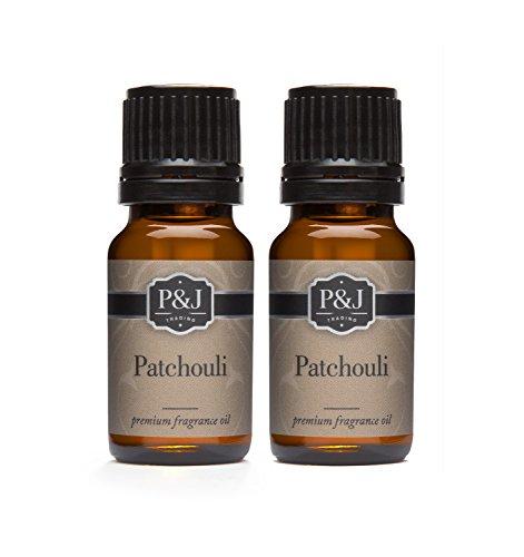 - Patchouli Fragrance Oil - Premium Grade Scented Oil - 10ml - 2-Pack