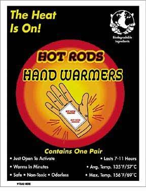 Hot Rods Heat Packs - 2