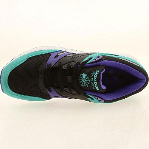 White White Black Men Ventilator Sneakers Teal Grey Purple Purple M45989 Teal Reebok Black xSAwBqPx