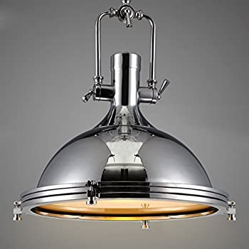 Industrial Nautical Style Single Pendant Light Litfad 15