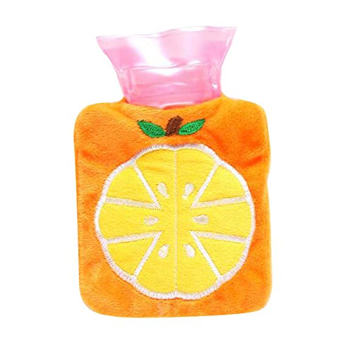Set of 2 Classic Beautiful Hot Water Bag Fashionable Mini Hot Water Bottle, C3 by DRAGON SONIC