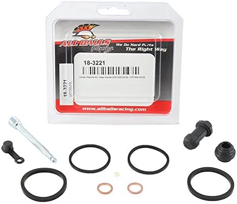 New All Balls Caliper Rebuild Kit 18-3221 for Honda VTX 1800 C1 05-08