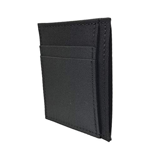 Vegan Polyester & Nylon Front Pocket Card Holder