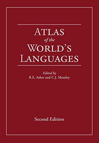 Atlas of the World's Languages by Routledge