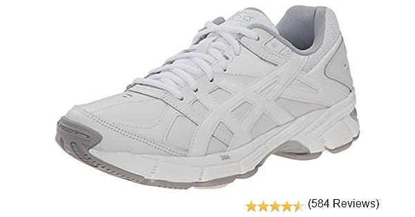 ASICS Zapato de entrenamiento femenino Gel 190 TR, blanco / blanco / plateado, 10 M US: Amazon.es: Zapatos y complementos