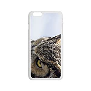 linJUN FENGThe Night Owl Hight Quality Plastic Case for Iphone 6