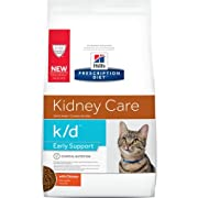 Hill's Prescription Diet® k/d® Feline is a complete and balanced food that provides all the nutrition cats need. Please consult your veterinarian for further information on how our Prescription Diet® foods can help your cat to continue to enjoy a hap...