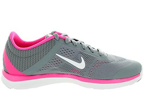 Dannelse 5 Pow 6 Pink Nike Noso Sko St 5 Cl Sæson Med Forsigtighed Grå Hvid 7xgwqT4H