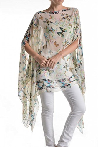 Womens Juniors Fashion Poncho Butterfly product image