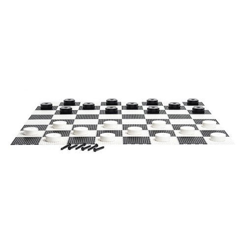 MegaChess Giant Checkers Game Board - Plastic - Giant Size by MegaChess (Image #2)
