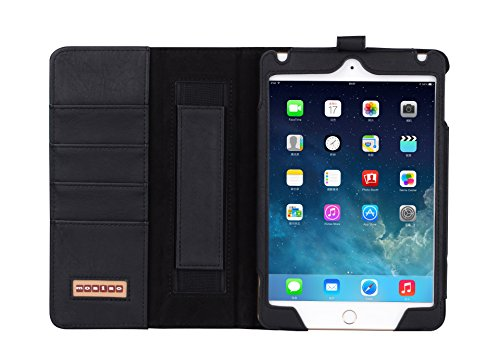Mosiso Leather Smart Wallet Stand