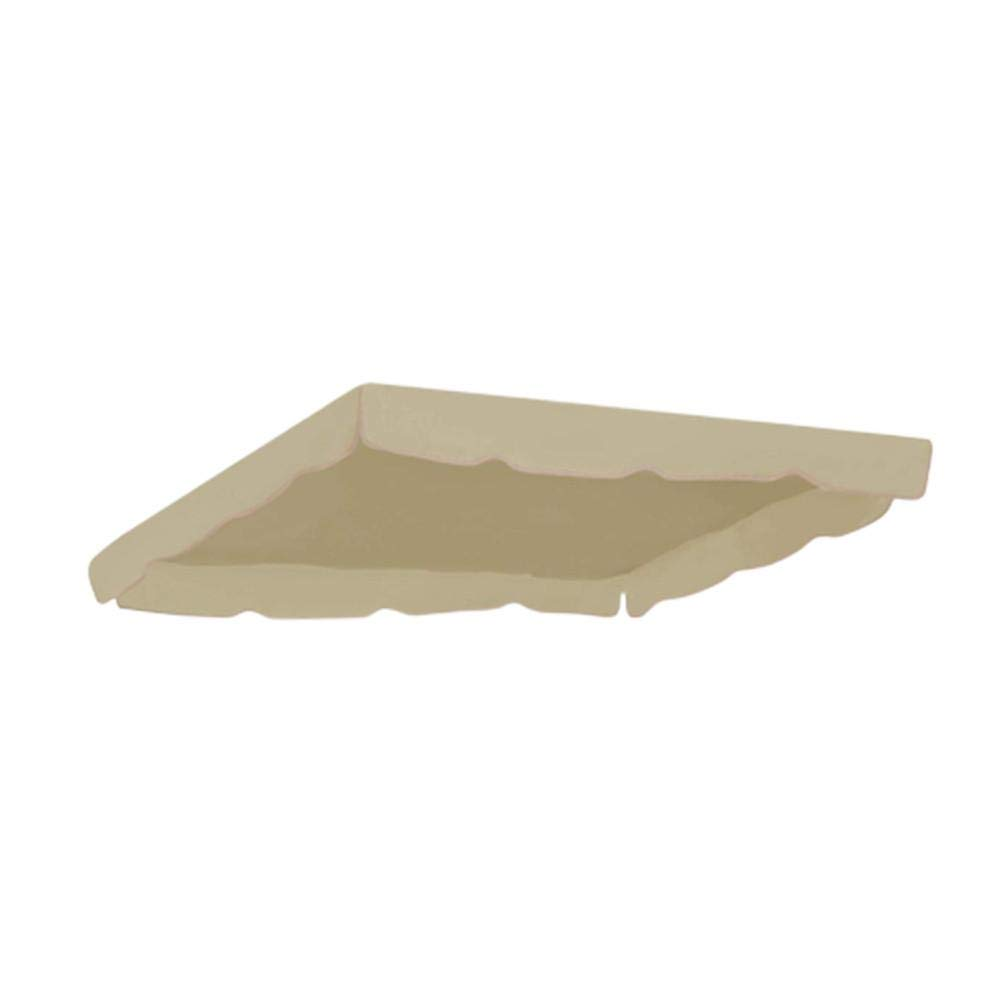 Universale Tetto del Dondolo da Giardino Ricambio Ricambi tettuccio Tetto Dondolo Copertura Superiore baldacchino Dimensione 24918518cm Wapern Copertura di Ricambio Universale per Dondolo a 3 posti