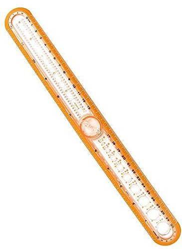 Helix 12 in. Circle Ruler 4 pcs sku# 1843113MA