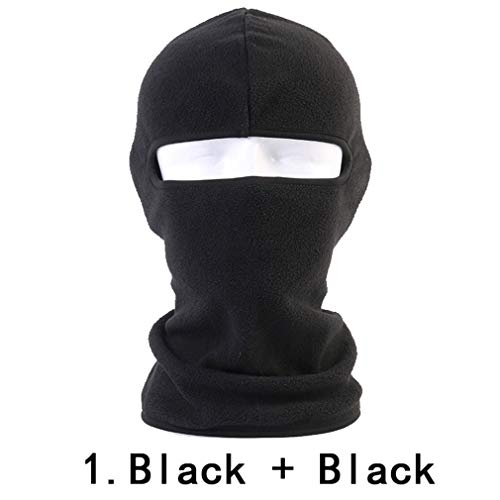 - Winter Breathable Warmer Balaclava Fleece Wool Thermal Windproof Bicycle Snowboard Neck Full Face Mask 1