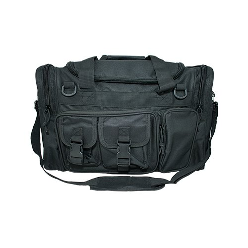 Osage River Tactical Duffel Bag. Osage River Duffel Bag for Traveling, Camping, in the field and at the Gym. (Black Tactical Duffel Bag, 18 in. L x 12 in. W x 11 in. H)